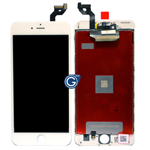 iPhone 6S Plus LCD and Touchpad Assembly in White - Compatible lcd screen
