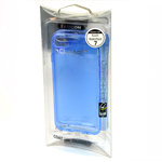 Fashion Clear Soft Translucent Case in Blue for iPhone 7