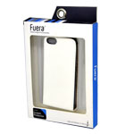 Fuera Flip Cover Case for iPhone SE in White (in Fuera Retail Packaging)