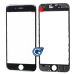 iPhone 6 lcd Lens with Frame (Cold Pressed) in Black