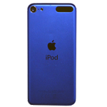 Genuine Apple iPod Touch 6th Generation Rear Housing in Blue- Model: A1574 (Grade C)