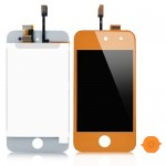 iPod touch 4 Complete LCD with digitizer in Light Orange