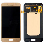 Genuine Samsung SM-J200, Galaxy J2, J200F, J200G lcd and touchpad in gold - Part no: gh97-17940b