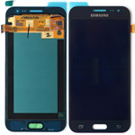 Genuine Samsung SM-J200, Galaxy J2, J200F, J200G lcd and touchpad in black - Part no: GH97-17940C