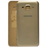 Genuine Samsung SM-J500F Galaxy J5 Battery Cover in Gold-Samsung part no: GH98-37588B