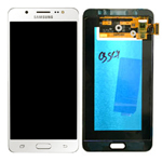Genuine Samsung SM-J710 Galaxy J7 (2016) Lcd and touchpad in White - Part no: GH97-18855C