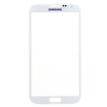 Samsung N7100 Galaxy Note II Lens Glass with Adhesive in White
