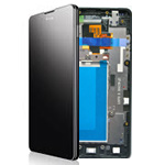 Genuine LG Optimus G E975 LCD + Touch Panel / Digitizer Unit / frame - LG Part code: ACQ86366901