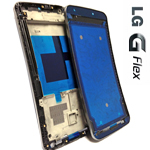 Genuine LG G Flex (D955) Front Cover Assembly  - LG Part Number: ACQ86865001