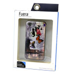 Artistic Hard Back Cover Case London Big Ben Theme for iPhone 4/4S (including Fuera Screen Protector)
