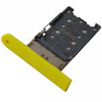 Genuine Nokia Lumia 1520 Sim Card Tray (Yellow) - P/N:0269D99