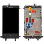 Genuine Nokia Lumia 720 Complete Front with LCD and Digitizer Touchscreen- Nokia part no: 00809K8