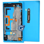Genuine Nokia Lumia 900 Complete Mid Cover Assembly - Plastic Body Assy Cyan Generic - Part number 9447741