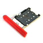 Genuine Nokia Lumia 1520 Sim Card Tray (Red) - P/N: 0269F00