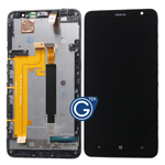 Nokia Lumia 1320 Complete LCD and Digitizer Assembly with Frame