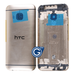 HTC One M9 Rear Housing with Side Button in Gold