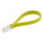 iOS 7 Micro USB Cable Flat-Designed Cable for iPhone 5/5S/5C in Yellow