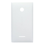 Genuine Microsoft Lumia 435 Battery Cover in White-Microsoft part no: 02508T7
