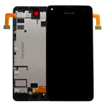 Genuine Microsoft Lumia 550 Complete Display Lcd with Digitizer Touchscreen-Microsoft part no: 00814D6