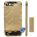 Arrow Style Swarovski Diamante Midframe for iPhone 4S in Gold