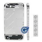Silver Square Swarovski Diamante Midframe for iPhone 4S