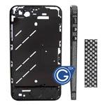 Swarovski Diamante Midframe for iPhone 4S in Black