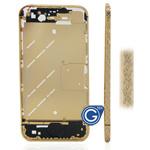 Cross Style Swarovski Diamante Midframe for iPhone 4 in Gold