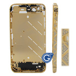 Triangle Style Swarovski Diamante Midframe for iPhone 4 in Gold