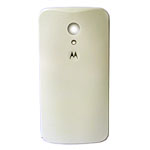 Genuine Motorola Moto G 2nd Generation Battery Cover in White- Part no: 20DBU010002;SJHN1134A