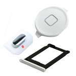 iPhone 3gs White set of Sim holder, mute button and home button
