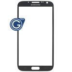 Samsung N7100 Galaxy Note II Lens Glass with Adhesive (grey)