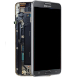Genuine Samsung SM-N7505 Galaxy Note 3 Neo LTE Complete lcd and digitizer with frame in Black - Samsung part number: GH97-15540A
