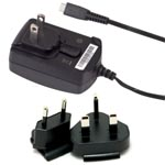 Genuine Blackberry Worldwide Travel Mains Charger ASY-18080-001/ HDW-17957-001 Micro Usb for 9900,9780, 9800, 9930, 9860