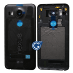 LG Google Nexus 5X Battery Cover in Black