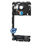 LG Google Nexus 5X Rear Housing with Loudspeaker Module and Fingerprint Scanner Flex in Blue