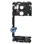 LG Google Nexus 5X Rear Housing with Loudspeaker Module and Fingerprint Scanner Flex in White