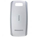 Nokia 305 Asha Battery Cover - Silver White - 0258988