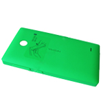 Nokia XL, Dual SIM Battery Cover (green) - Part no: 8003220