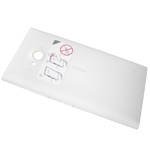 Genuine Nokia Lumia 730, 735 Battery Cover in White-Nokia part no:02507Z7