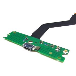 Genuine Nokia Lumia 720 Micro USB Connector Flex Cable-Nokia part no: 00809K9