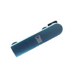 Genuine Nokia N8-00 Micro SD Cover (Blue)- Nokia part no: 9904644