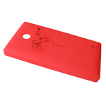 Nokia XL, Dual SIM Battery Cover (red) - Part no: 8003361
