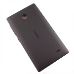 Nokia X+ battery cover (black) - Part no: 8003222