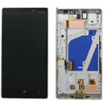 Nokia Lumia 930 Complete Front+LCD+Touchscreen (Silver) -Part no: 00812k8