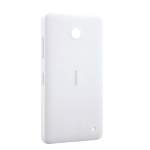 Nokia Lumia 630, 635 Back Cover (White) - Part no: 02506c8