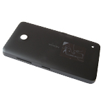 Nokia Lumia 630, 635 Back Cover (Black)  - Part no: 02505S5