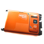 Nokia N8-00 Back Cover (Orange) - Part no: 02695k9
