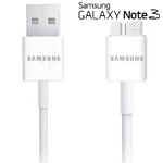 Genuine Samsung Galaxy Note 3, Samsung Galaxy S5, Samsung Galaxy Tab Pro 12.2 SM-T900  USB 3.0 5FT Data Cable - White Original OEM ET-DQ11Y1WE