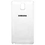 Genuine Samsung SM-N9005 Galaxy Note 3 Battery Cover in White- Samsung part no: GH98-29019B (Grade A)