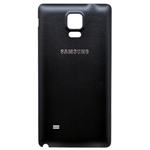 Genuine Samsung SM-N910F Galaxy Note 4 Battery Cover in Black- Samsung part no: GH98-35212B (Grade A)